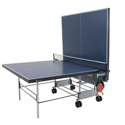 Sponeta Sportline Rollaway Indoor Table Tennis Table - Playback