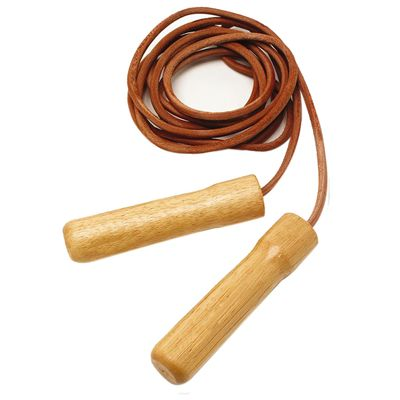 Sportline Leather Skipping Rope