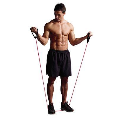 Sportline Resistance Tube exercise