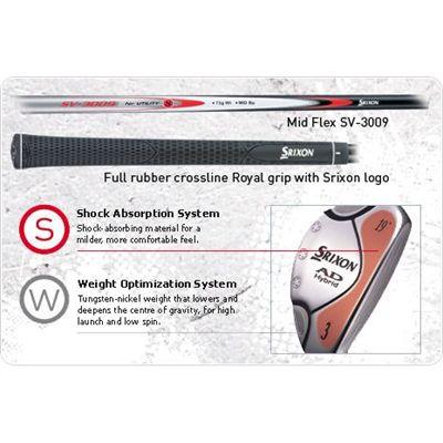 Srixon AD Hybrid Golf Club Technology