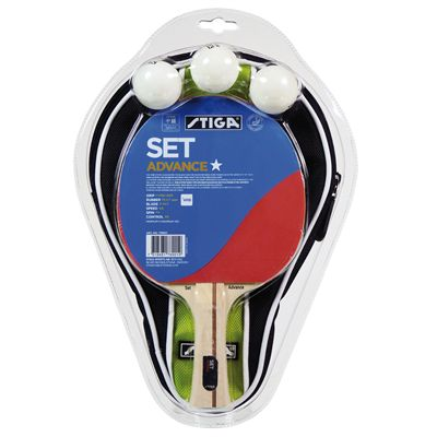 Stiga 1 Star Advanced Table Tennis Set