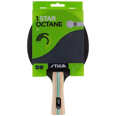 Stiga 1 Star Octane Table Tennis Bat