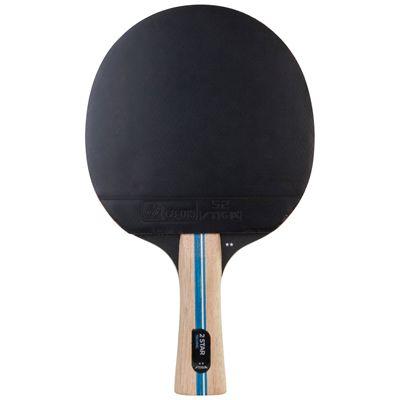 Stiga 2 Star Technic Table Tennis Bat - Black