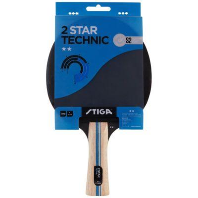 Stiga 2 Star Technic Table Tennis Bat