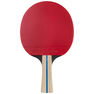 Stiga 2 Star Tempo Table Tennis Bat - Red