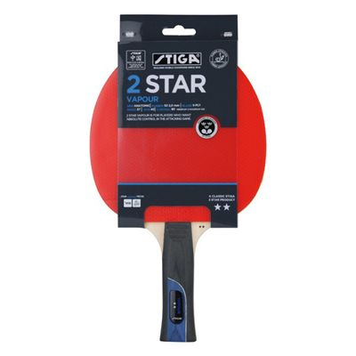 Stiga 2 Star Vapour Table Tennis Bat