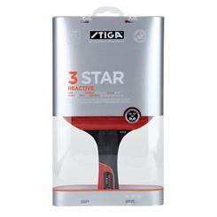Stiga 3 Star Reactive Table Tennis Bat