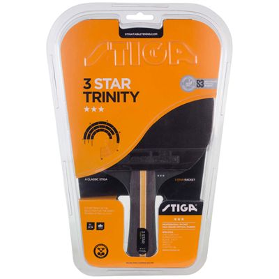 Stiga 3 Star Trinity Table Tennis Bat