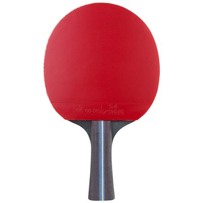 Stiga 4 Star Factor Table Tennis Bat - Red