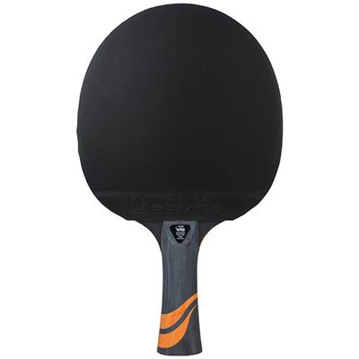 Stiga 4 Star Flame Table Tennis Bat - Back