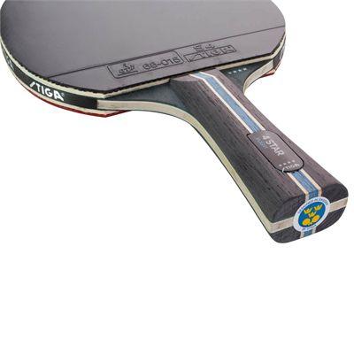 Stiga 4 Star Flight Table Tennis Bat - Below
