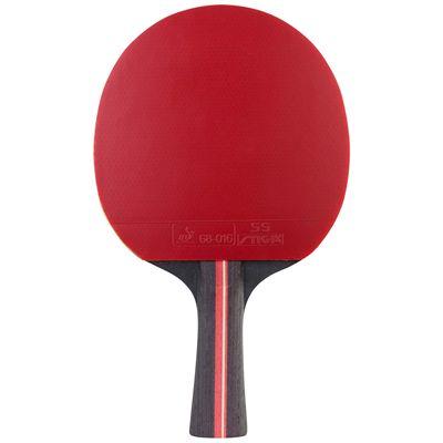 Stiga 5 Star Fanatic Table Tennis Bat - Red
