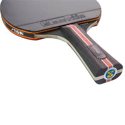 Stiga 5 Star Flexure Table Tennis Bat - Below