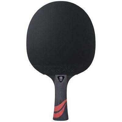 Stiga 5 Star Force Table Tennis Bat - Black