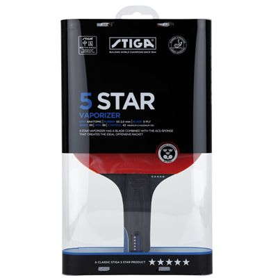 Stiga 5 Star Vaporizer Table Tennis Bat