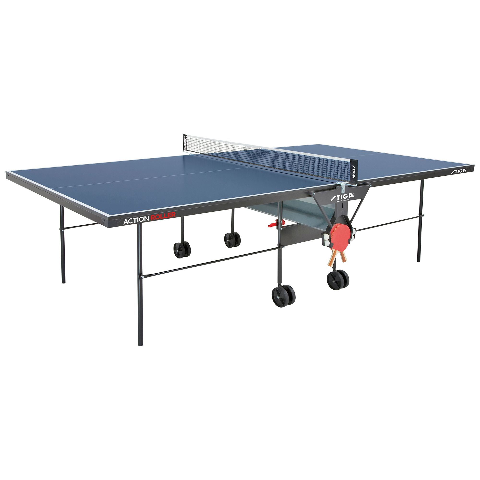 Stiga action roller indoor table tennis table - Stiga outdoor table tennis table ...