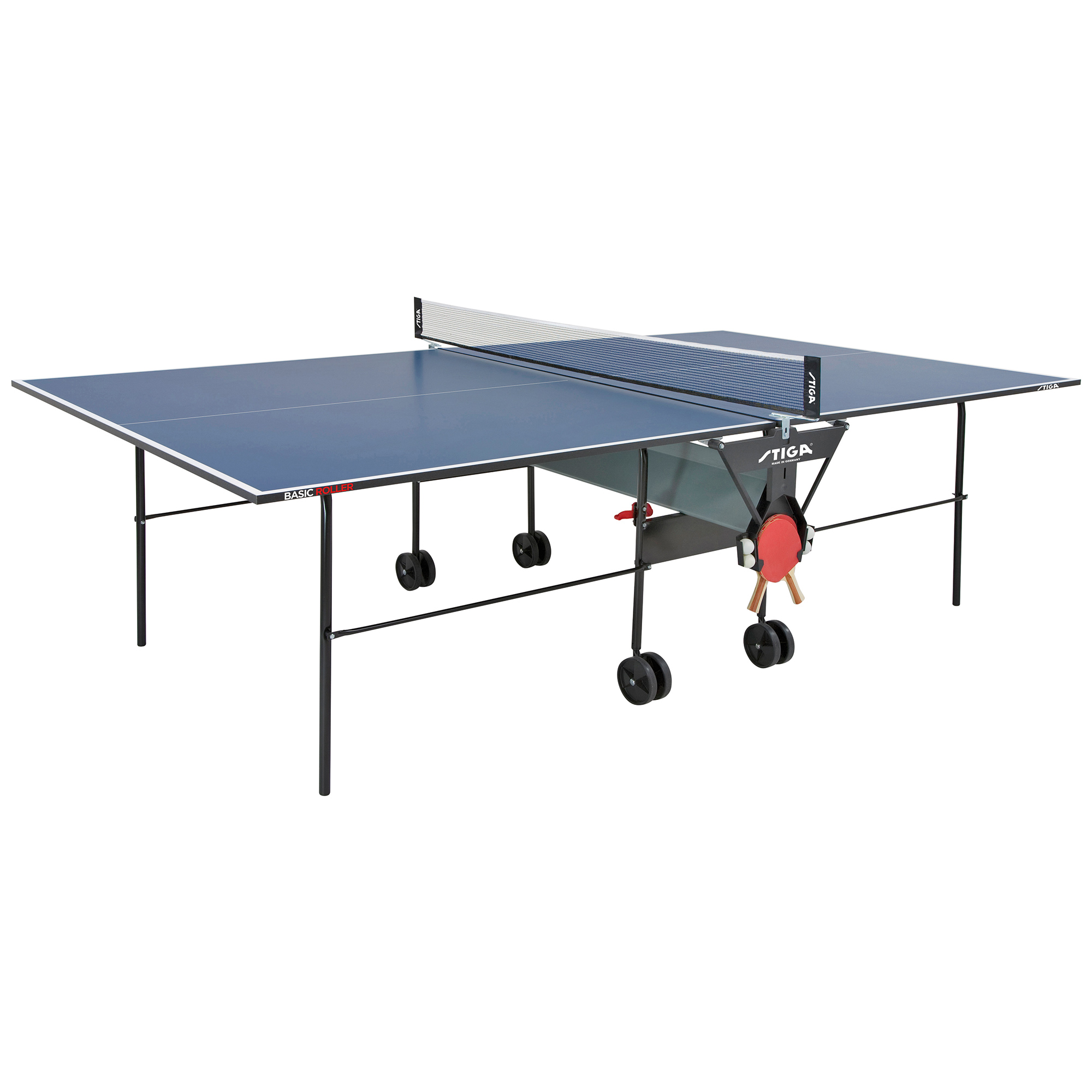 Stiga action roller indoor table tennis table for Basic html table