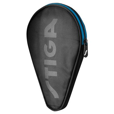 Stiga Batcover Double Table Tennis Bat Case-Black and Blue