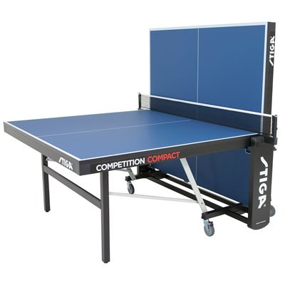 Stiga Competition Compact ITTF Indoor Table Tennis Table - Playback