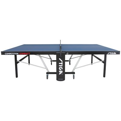 Stiga Competition Compact ITTF Indoor Table Tennis Table - Side View