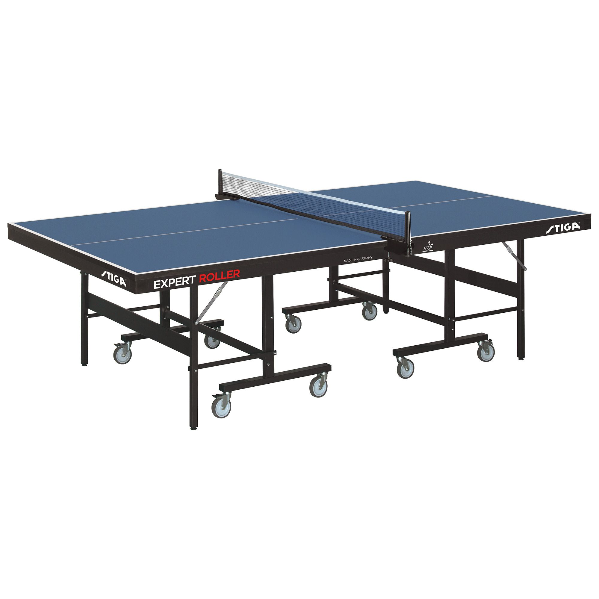 Stiga expert roller ccs ittf indoor table tennis table - Stiga outdoor table tennis table ...