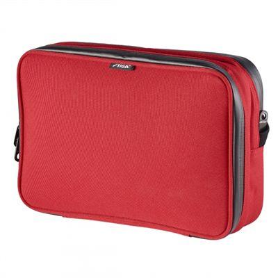 Stiga Hexagon Double Bat Wallet - Red - Back