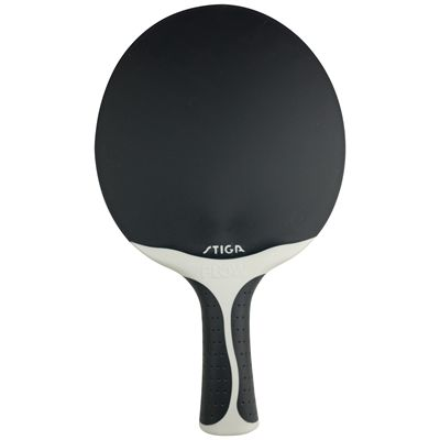 Stiga Outdoor Flow Spin Table Tennis Bat - Standing