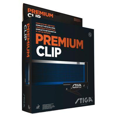 Stiga Premium Clip ITTF Table Tennis Net - Box
