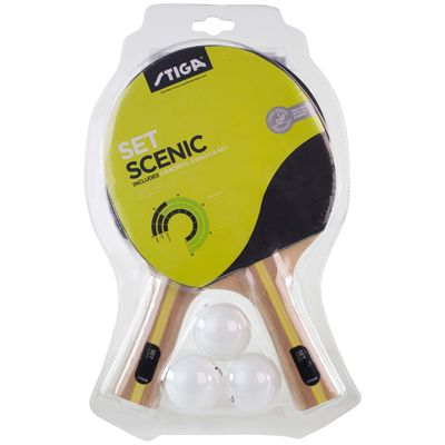 Stiga Scenic Table Tennis Set