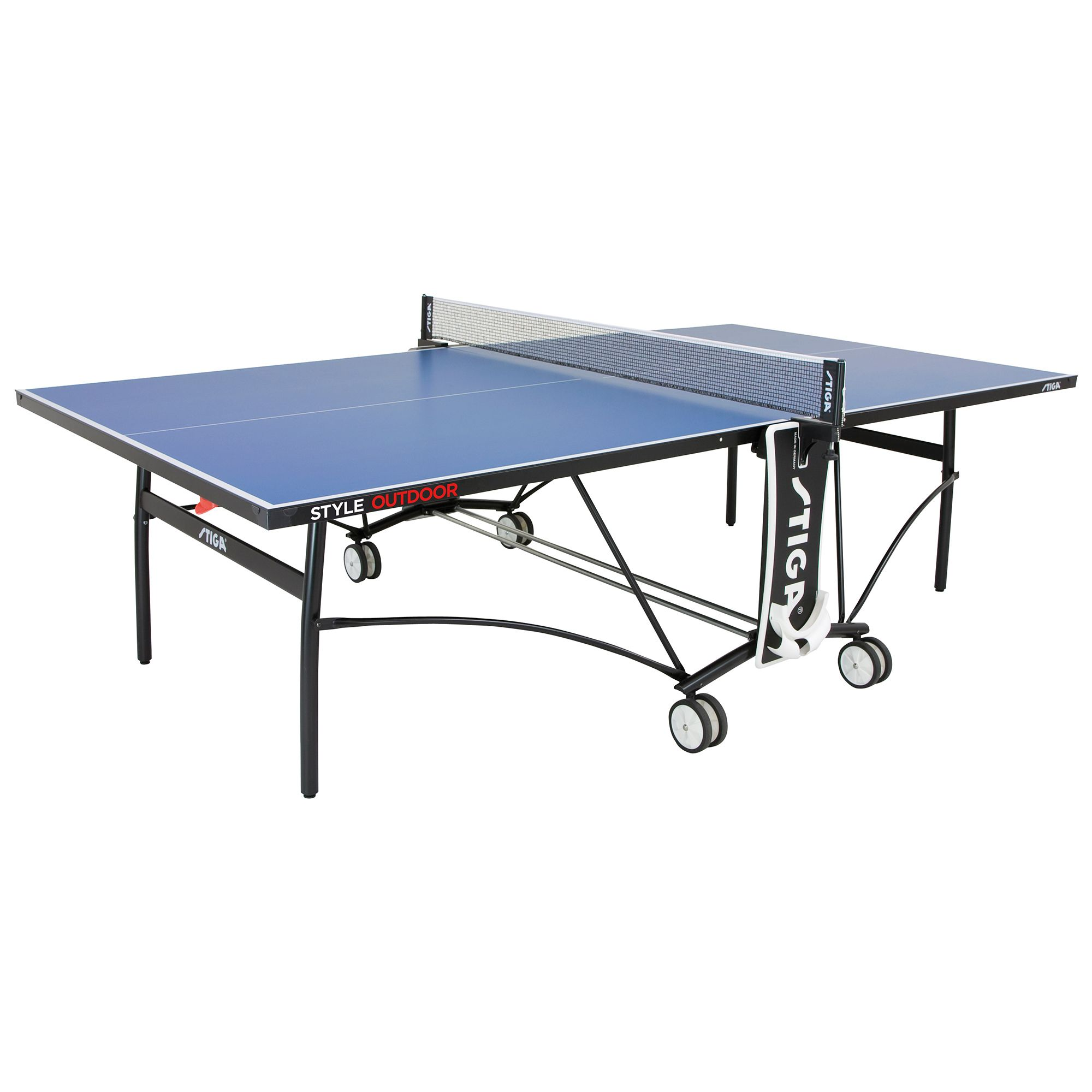 Stiga style outdoor table tennis table - Weatherproof table tennis table ...