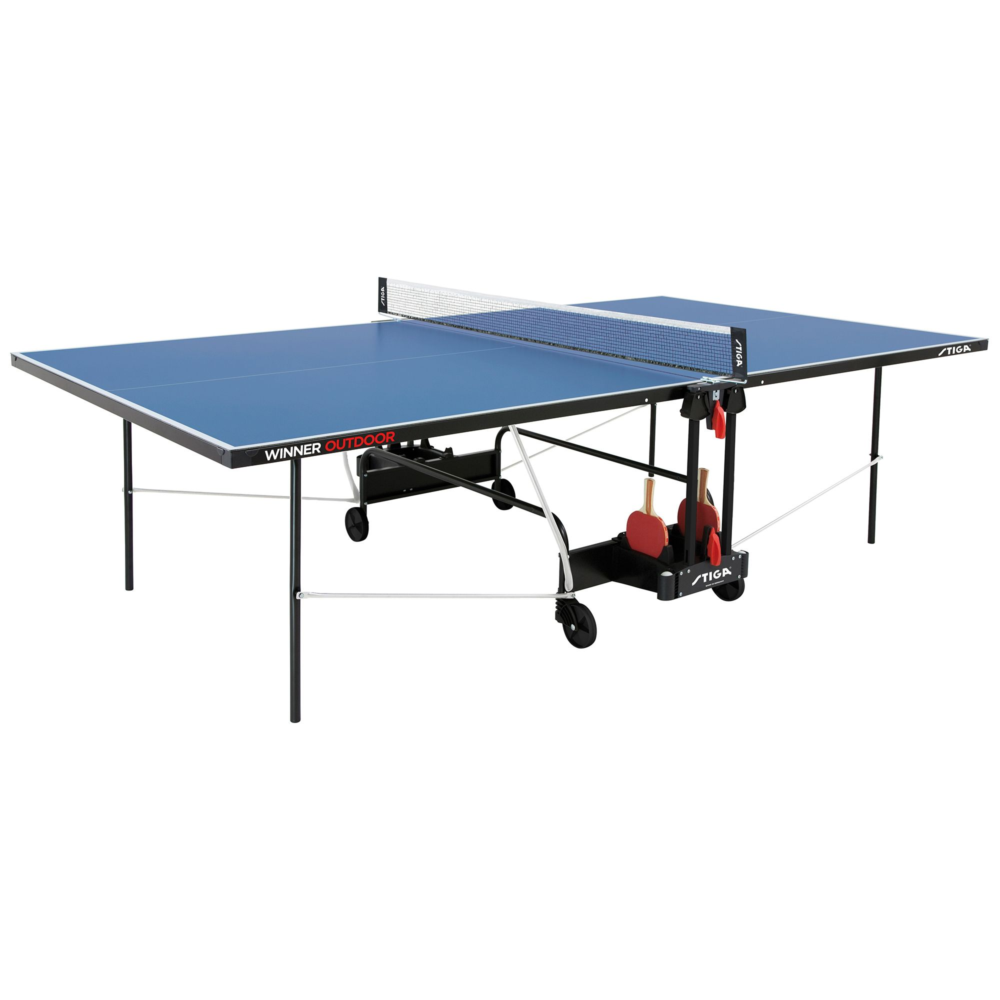 Stiga winner outdoor table tennis table - Weatherproof table tennis table ...
