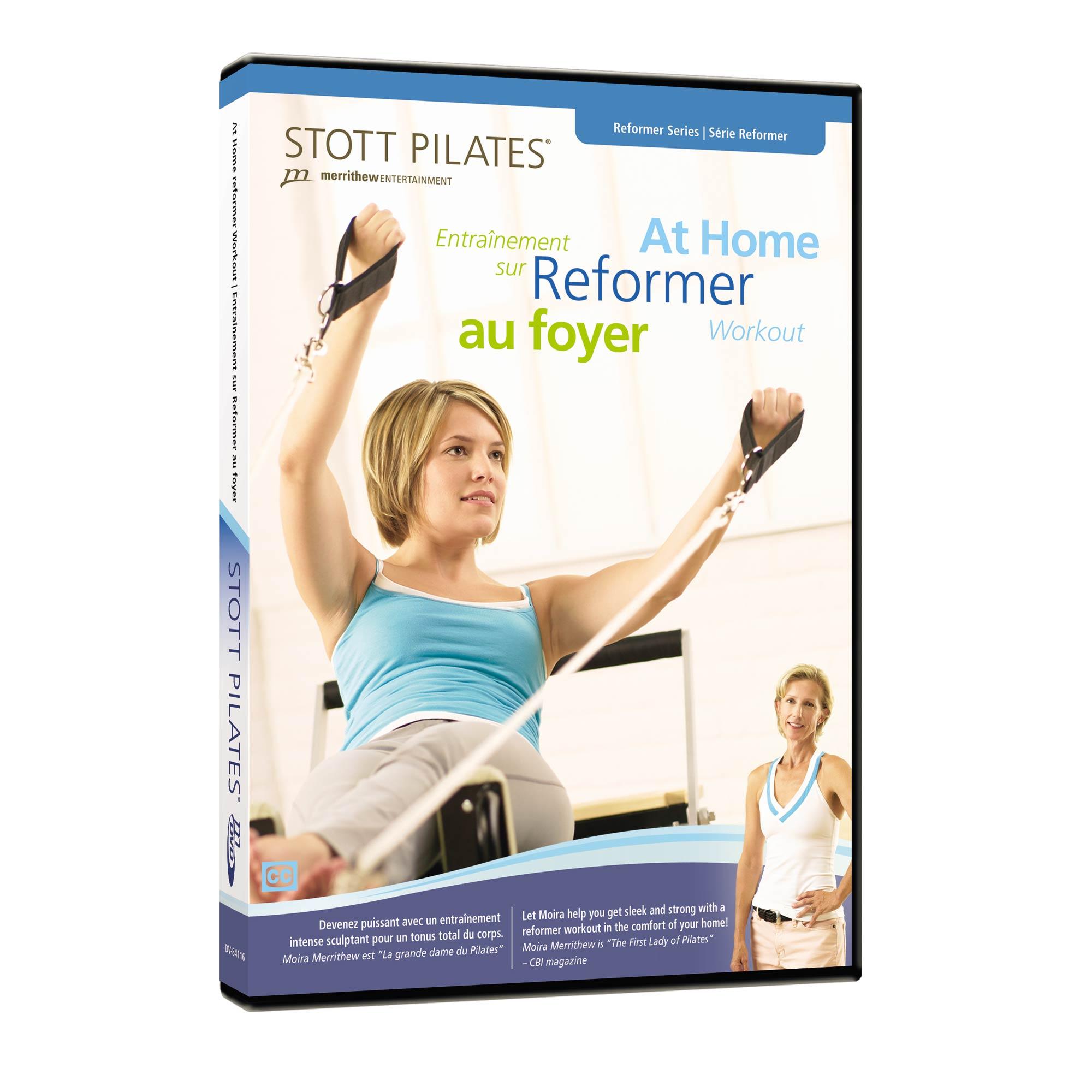 Charlotte S Fitness Dvd Reviews: Stott Pilates At Home Reformer Workout DVD