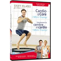 Stott Pilates Cardio and Core on the Mini-Tramp DVD