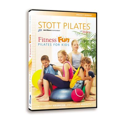 Stott Pilates Fitness Fun Pilates for Kids DVD