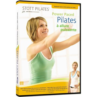 Stott Pilates Power Paced Pilates DVD