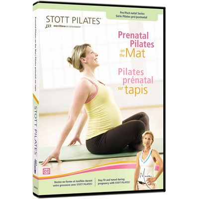 Stott Pilates Prenatal Pilates on the Mat DVD