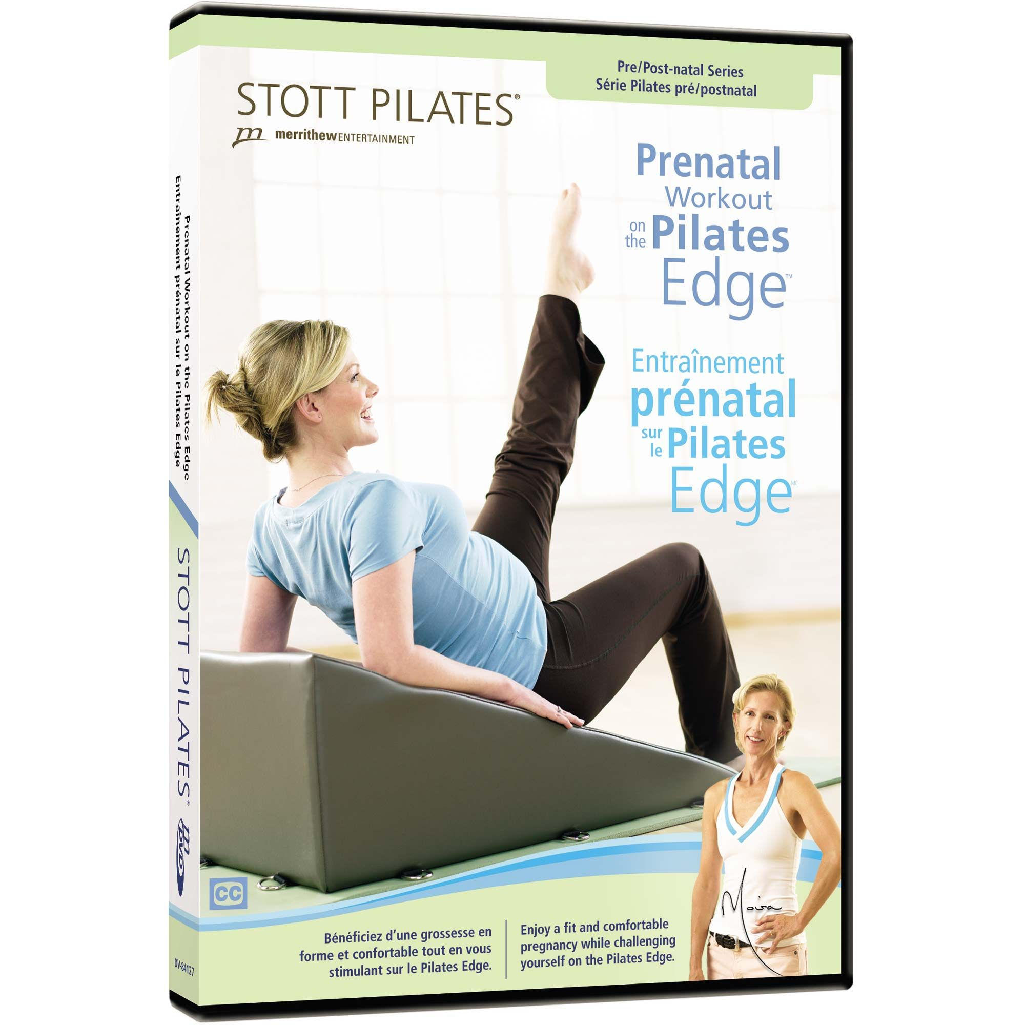 Stott Pilates Prenatal Workout On The Pilates Edge DVD