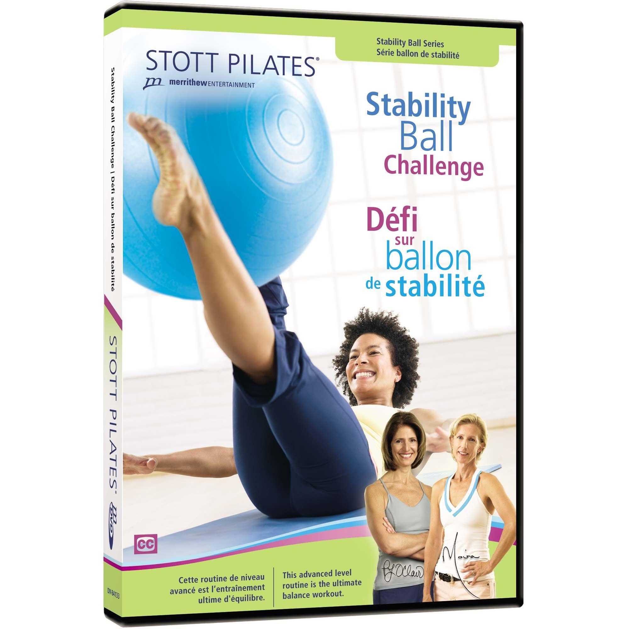Balance Ball Dvd: Stott Pilates Stability Ball Challenge DVD