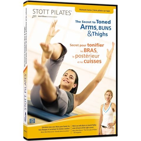 Stott Pilates The Secret of Toned Arms Buns and Thighs DVD