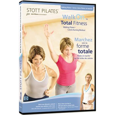 Stott Pilates Walk On to Total Fitness DVD