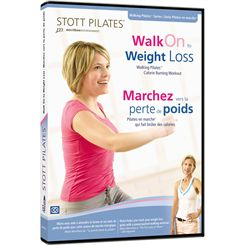 Stott Pilates Walk On to Weight Loss DVD