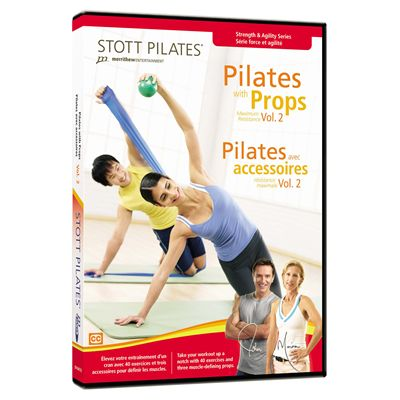 Stott Pilates Pilates with Props Vol 2 DVD Image