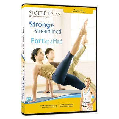 Stott Pilates Strong and Streamlined DVD Image
