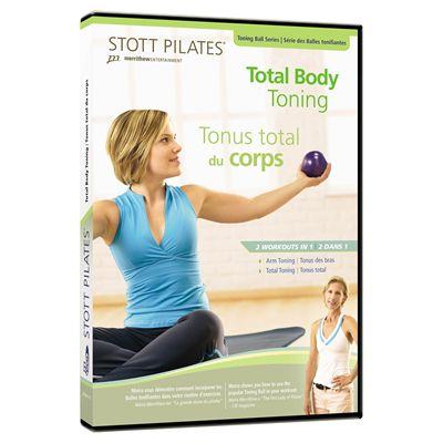 Stott Pilates Total Body Toning DVD Image