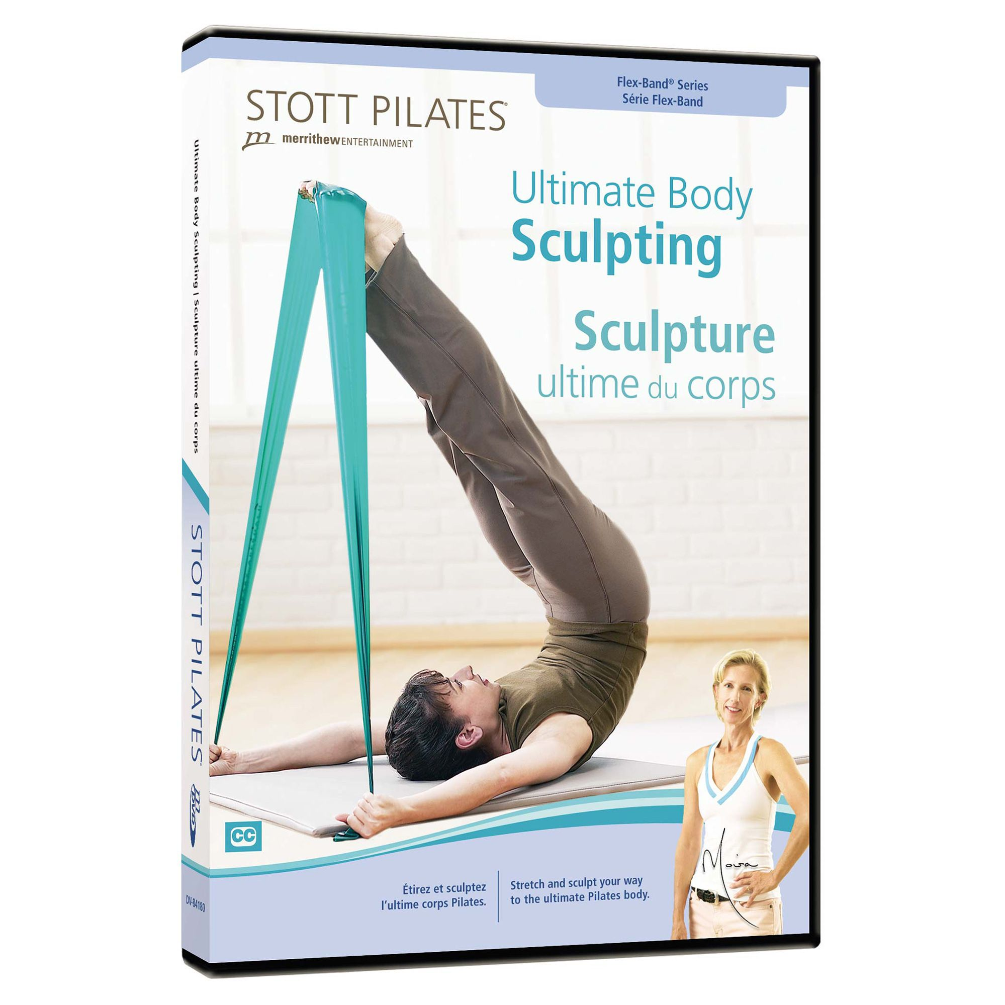 Stott Pilates Ultimate Body Sculpting Dvd Sweatband Com