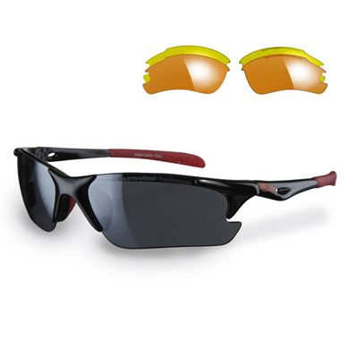 Sunwise Twister Running Sunglasses - Black