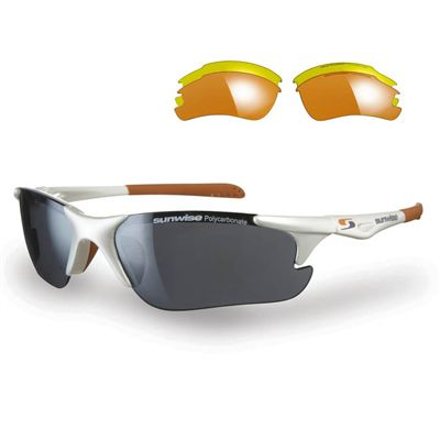 Sunwise Twister Running Sunglasses - White