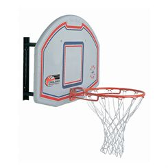 Sure Shot 506 Basketball Backboard and Standard Ring Set