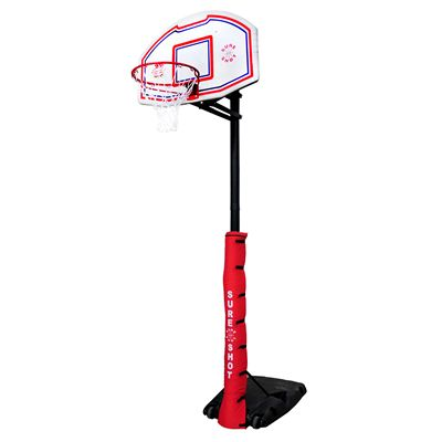 Sure Shot 512 Quick Adjust Basketball Unit with pole padding