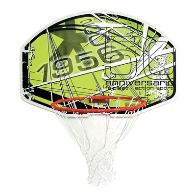 Sure Shot Action Slam Shot Basketball Backboard and Ring